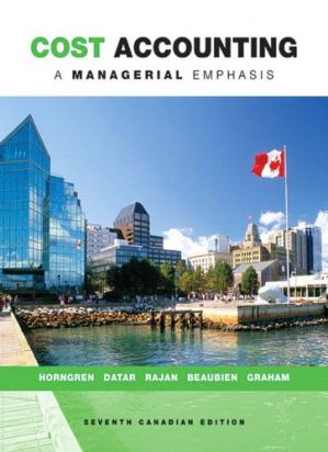 Copertina Cost Accounting A Managerial Emphasis