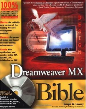 Գրքի կազմ Dreamweaver MX Bible