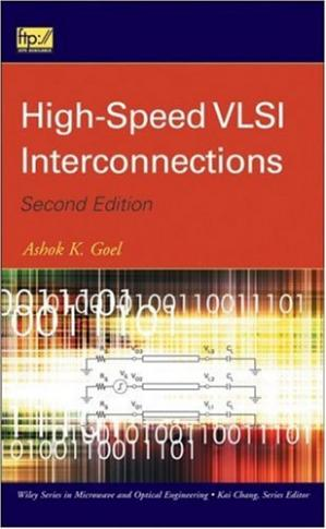 A capa do livro High-speed VLSI interconnections