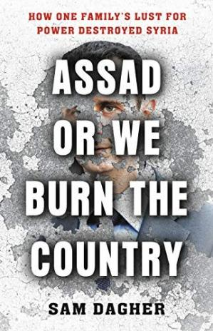 Book cover Assad or We Burn the Country