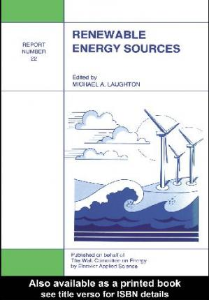 Book cover Renewable energy sources