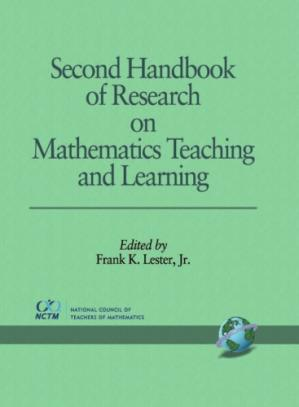 La couverture du livre Second Handbook of Research on Mathematics Teaching and Learning