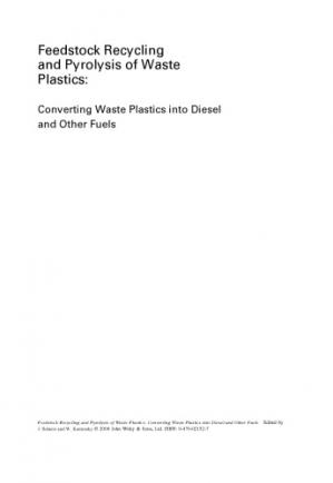 Couverture du livre Feedstock Recycling and Pyrolysis of Waste Plastics