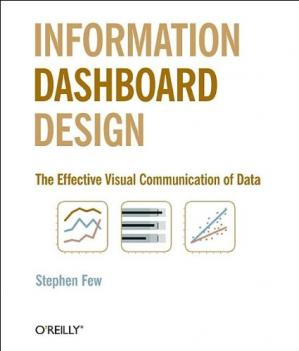 Book cover Information Dashboard Design: The Effective Visual Communication of Data