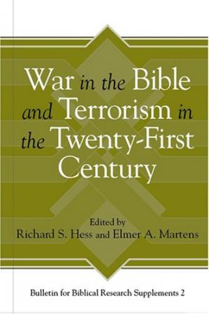 Book cover War in the Bible and Terrorism in the Twenty-first Century