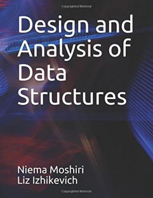 Book cover Design and Analysis of Data Structures