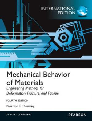 A capa do livro Mechanical Behavior of Materials: Engineering Methods for Deformation, Fracture, and Fatigue, 4th Edition