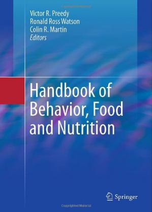 Обкладинка книги Handbook of Behavior, Food and Nutrition