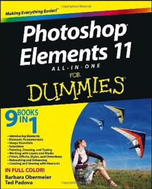 पुस्तक कवर Photoshop Elements 11 All-in-One For Dummies