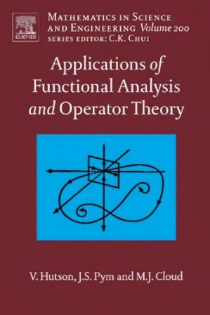 Portada del libro Applications of Functional Analysis and Operator Theory