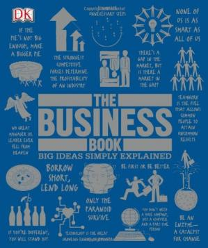 पुस्तक कवर The Business Book (Big Ideas Simply Explained)