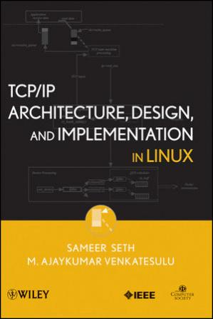 Okładka książki TCP/IP architecture, design and implementation in Linux