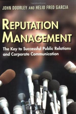 पुस्तक कवर Reputation Management: The Key to Successful Public Relations and Corporate Communications
