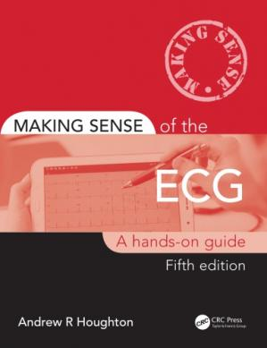 Book cover Making Sense of the ECG: A Hands-On Guide