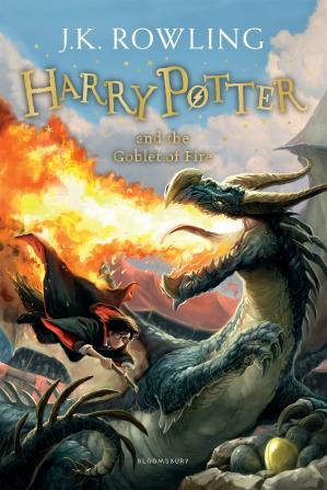 Book cover Harry Potter and the Goblet of Fire (AUDIOBOOK 4)