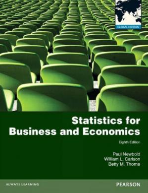 Book cover Statistics for business and economics