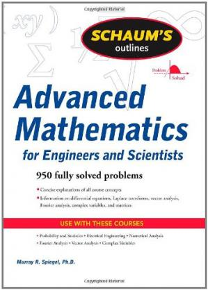 Book cover Schaum's Outline of Advanced Mathematics for Engineers and Scientists