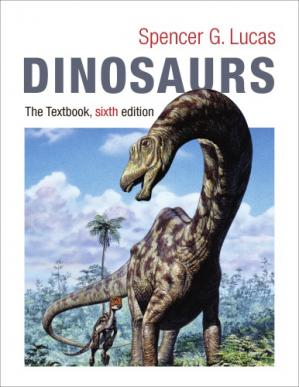 Book cover Dinosaurs: The Textbook