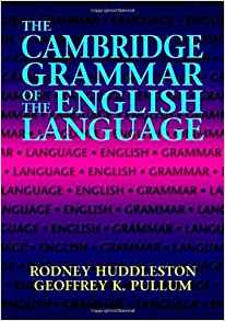 Book cover The Cambridge Grammar of the English Language