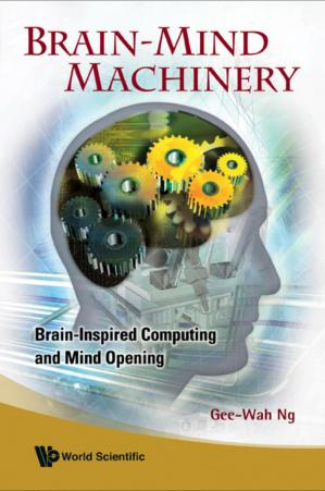 Book cover rain-Mind Machinery Brain-Inspired Computing and Mind Opening (383 Pages)