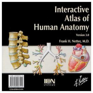 غلاف الكتاب Netter Interactive Atlas of Human Anatomy v3.0