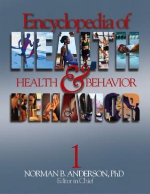 Book cover Encyclopedia of Health and Behavior