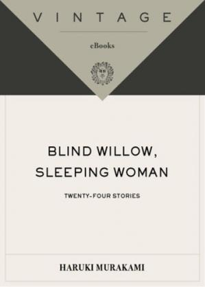 Book cover Blind Willow, Sleeping Woman