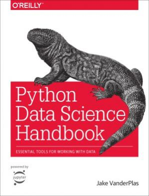 Sampul buku Python Data Science Handbook.  Essential Tools for Working with Data