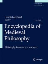 Copertina Encyclopedia of Medieval Philosophy
