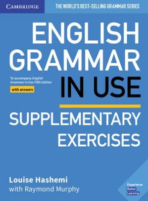 Book cover English Grammar in Use Supplementary Exercises Book with Answers: To Accompany English Grammar in Use Fifth Edition