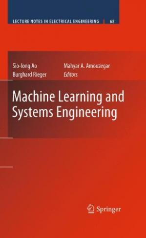 Book cover Machine Learning and Systems Engineering