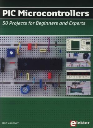 Book cover PIC Microcontrollers: 50 Projects for Beginners and Experts