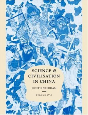 Book cover Science and Civilisation in China, Vol. 4: Physics and Physical Technology, Part 3: Civil Engineering and Nautics