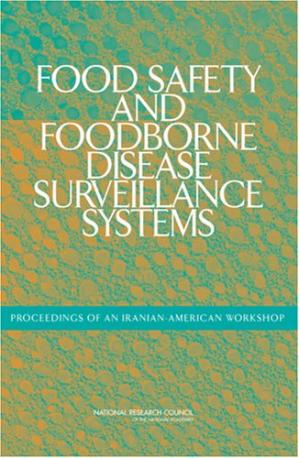 A capa do livro Food Safety and Foodborne Disease Surveillance Systems: Proceedings of an Iranian-American Workshop