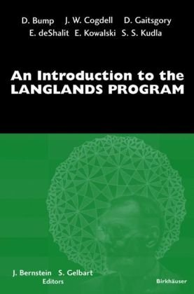 Book cover An introduction to the Langlands program