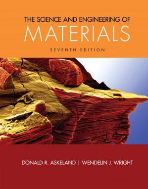 A capa do livro The Science and Engineering of Materials