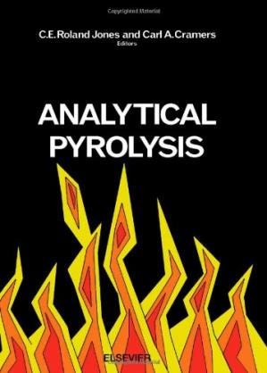 Couverture du livre Analytical Pyrolysis
