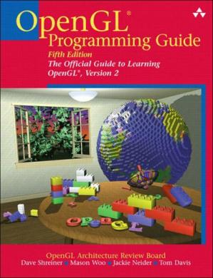 Book cover OpenGL programming guide