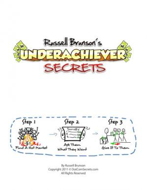 La couverture du livre Underachiever Secret Manual