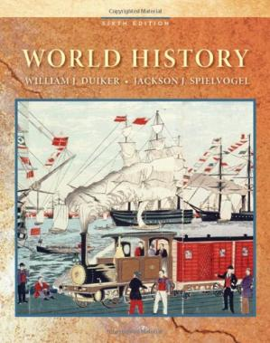 Book cover World History