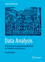 Book cover Data Analysis: Statistical and Computational Methods for Scientists and Engineers