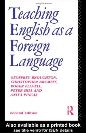 Book cover Teaching English as a Foreign Language (Education Books)