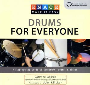Copertina Knack Drums for Everyone: A Step-by-Step Guide to Equipment, Beats, and Basics