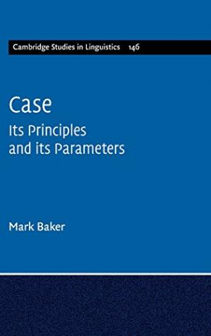 Sampul buku Case: Its Principles and its Parameters