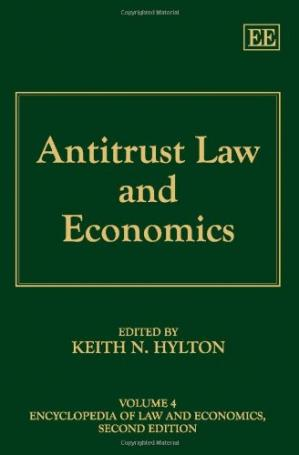 Book cover Antitrust Law and Economics, 2nd edition (Encyclopedia of Law and Economics)