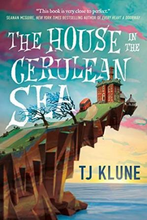पुस्तक कवर The House in the Cerulean Sea