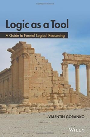 A capa do livro Logic as a Tool: A Guide to Formal Logical Reasoning