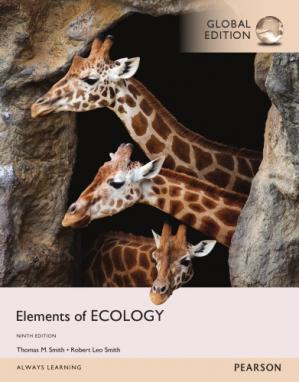 Book cover Elements of Ecology, Global Edition