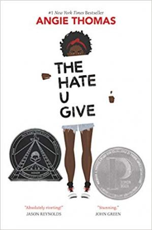 A capa do livro The Hate U Give