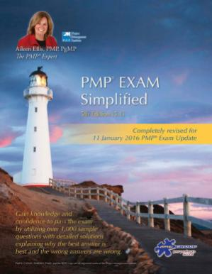 Book cover PMP Exam Simplified